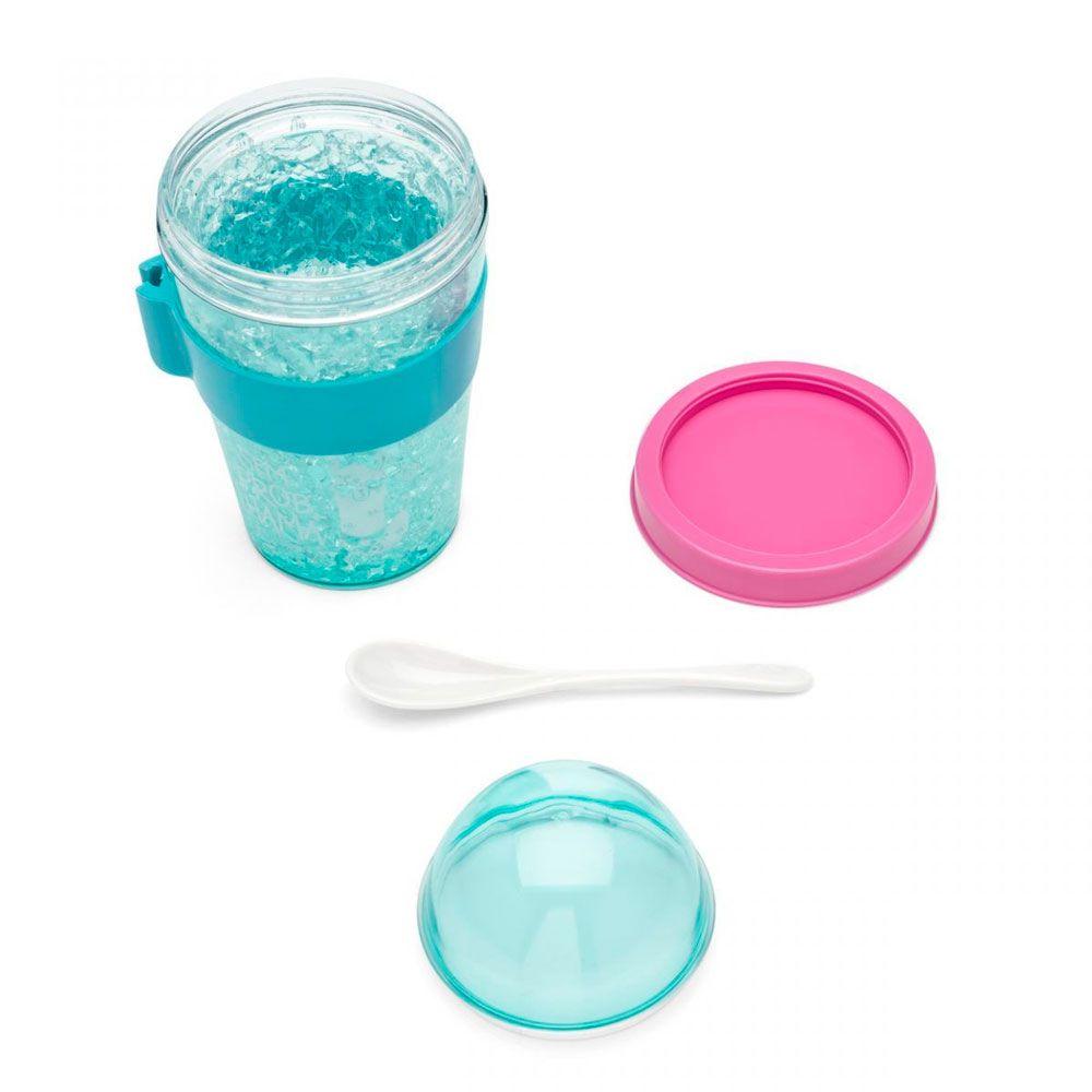 Copo Snack Congelável com Colher - Lhama