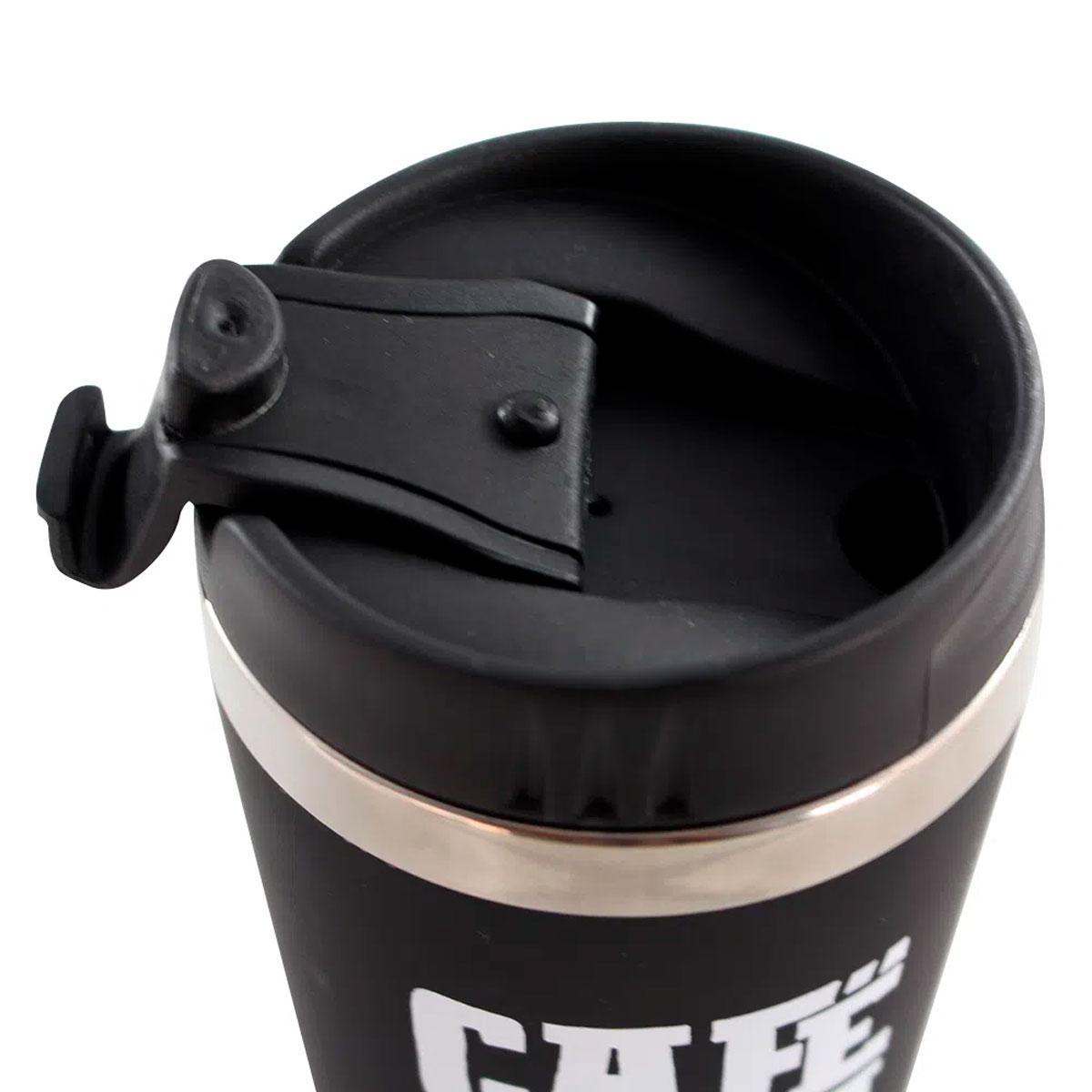 Copo Térmico Emborrachado Café Torna Tudo Possível FBA