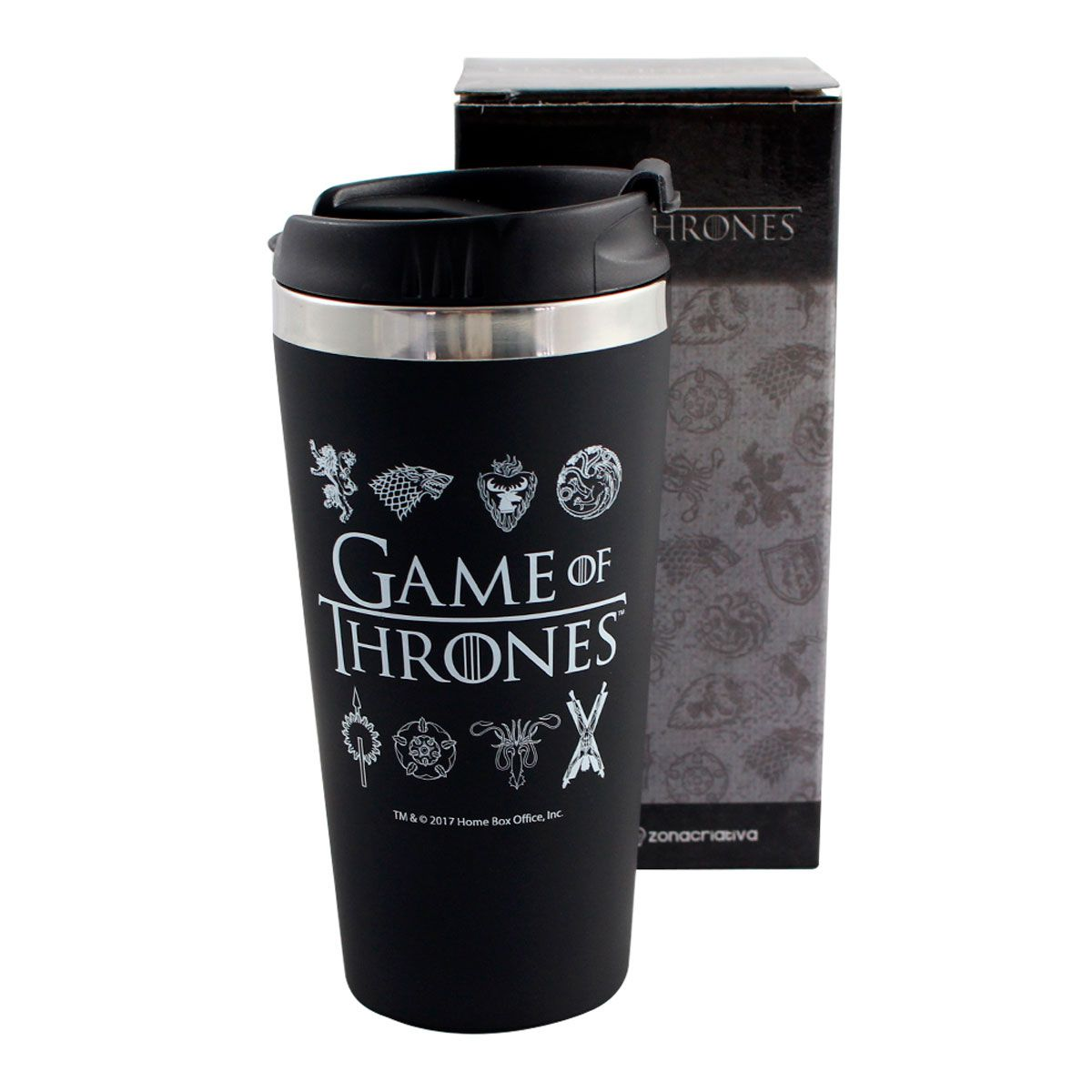 Copo Térmico Emborrachado Game Of Thrones