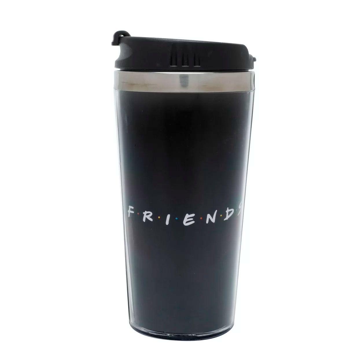 Copo Térmico Friends Logo Preto