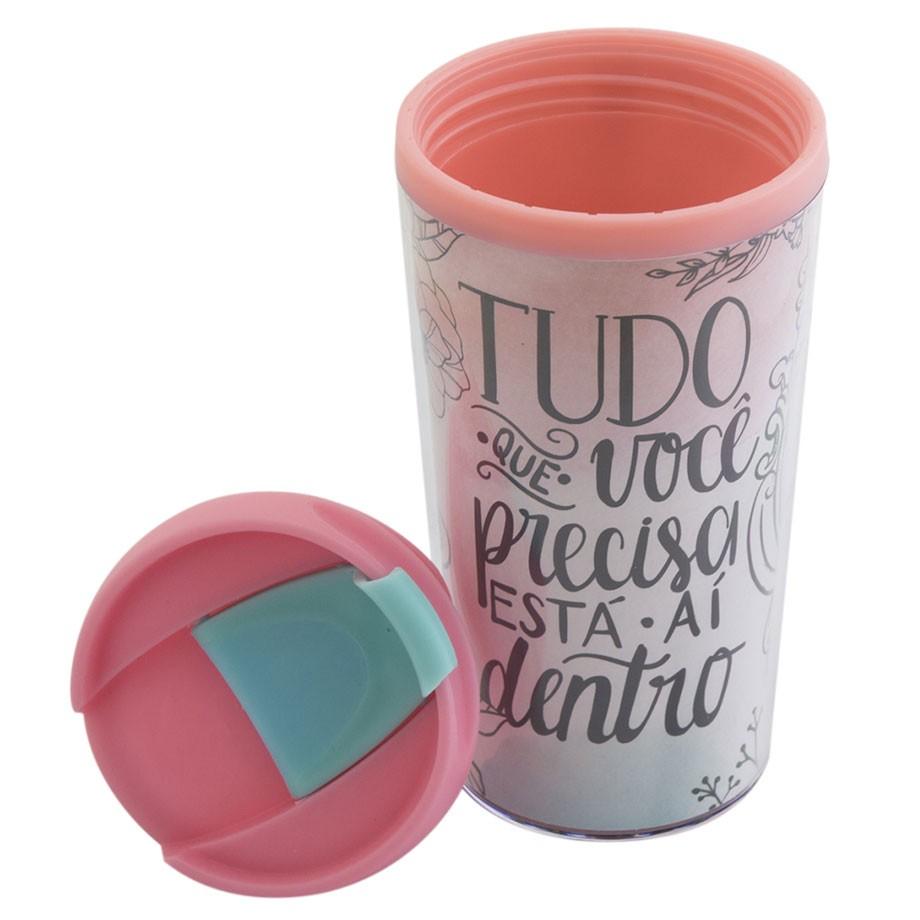 Copo Térmico Pop 200 ml - Jardim Secreto