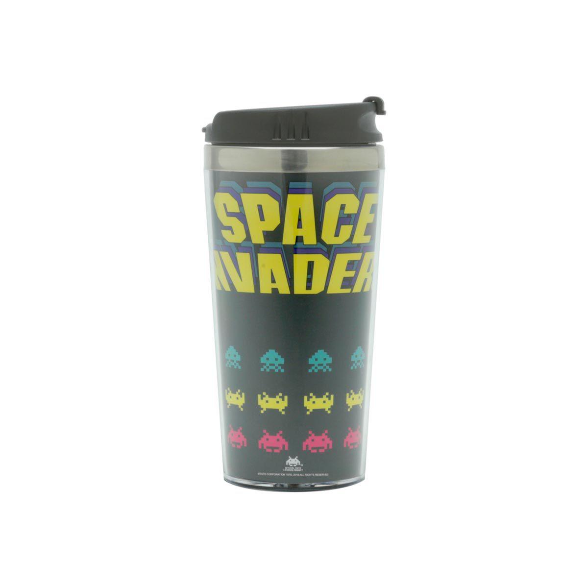 Copo Térmico Space Invaders Game Geek