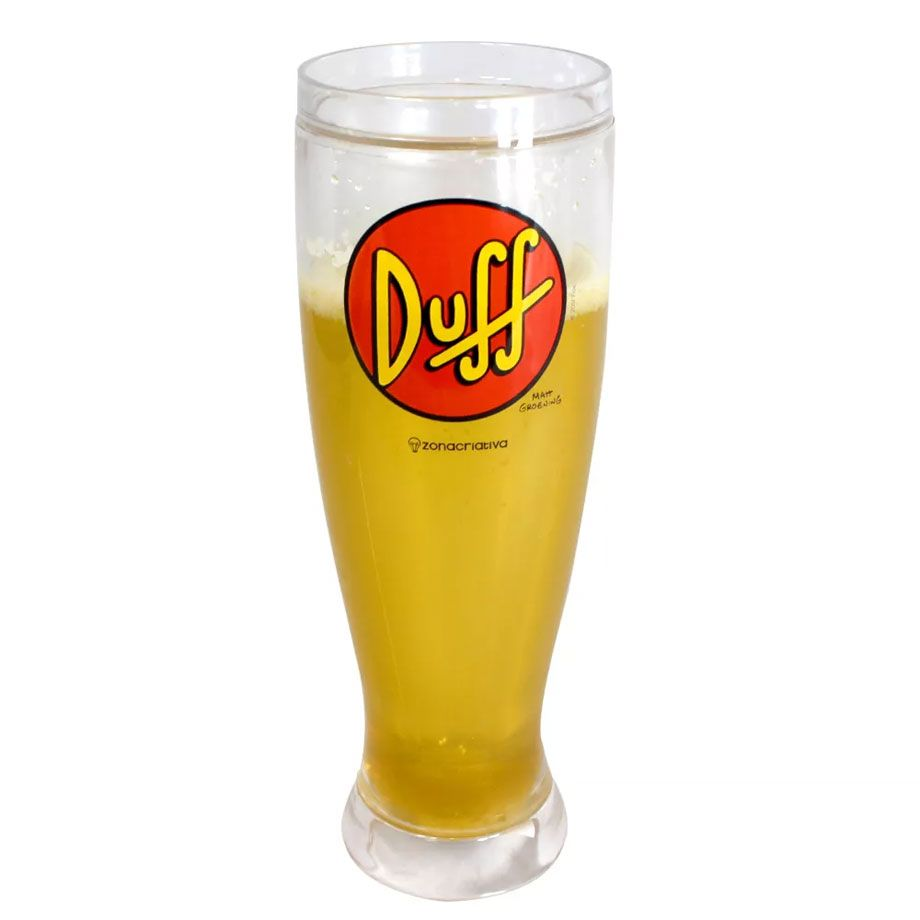 Copo Térmico Tulipa Chopp Duff Beer - The Simpsons