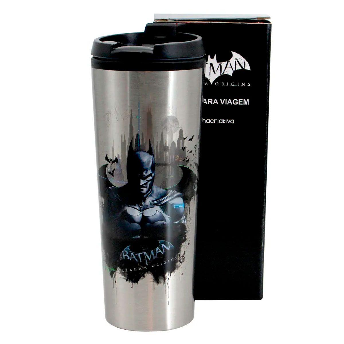 Copo Viagem 450 ml Batman Arkham Origins
