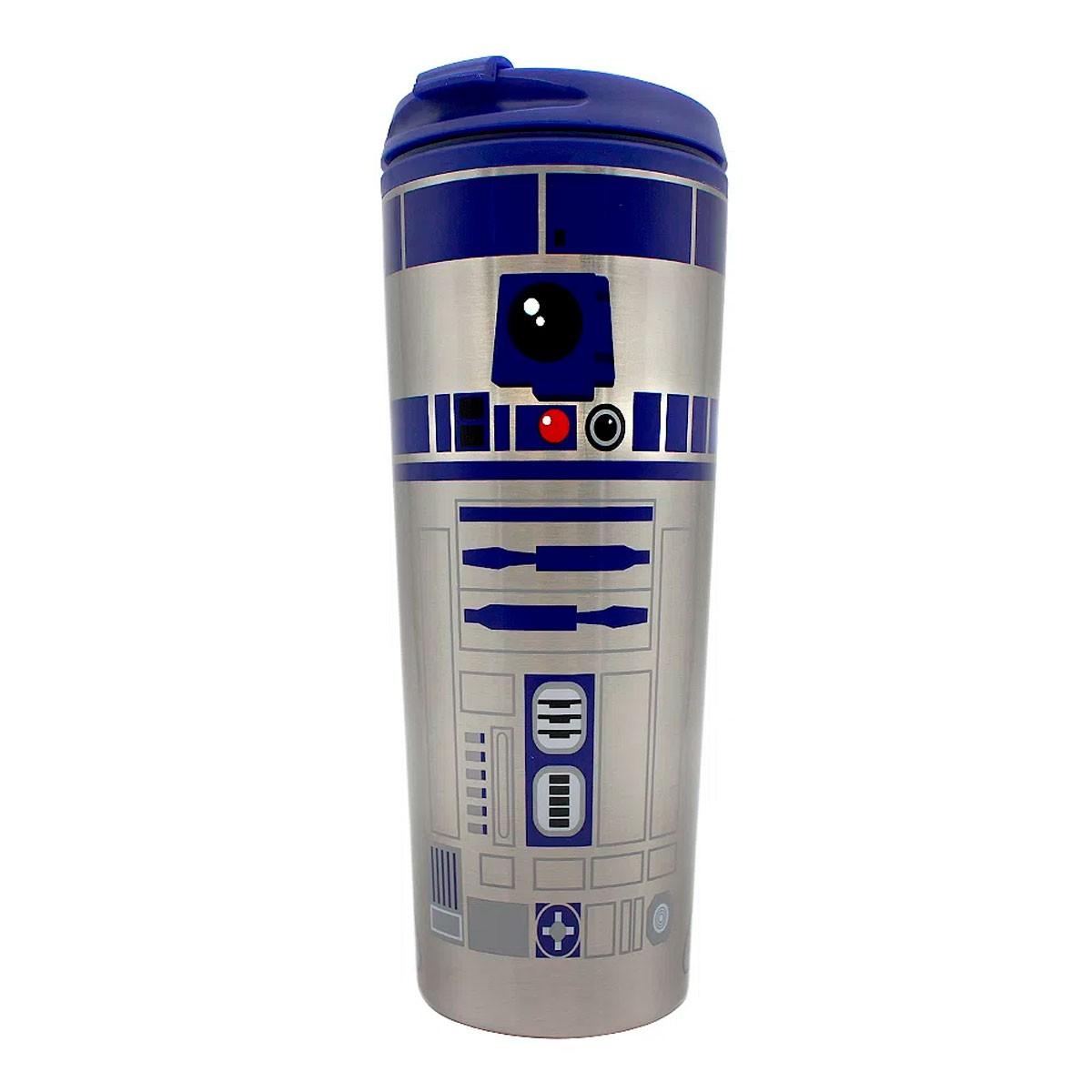 Copo Viagem 450 ml R2D2 Star Wars
