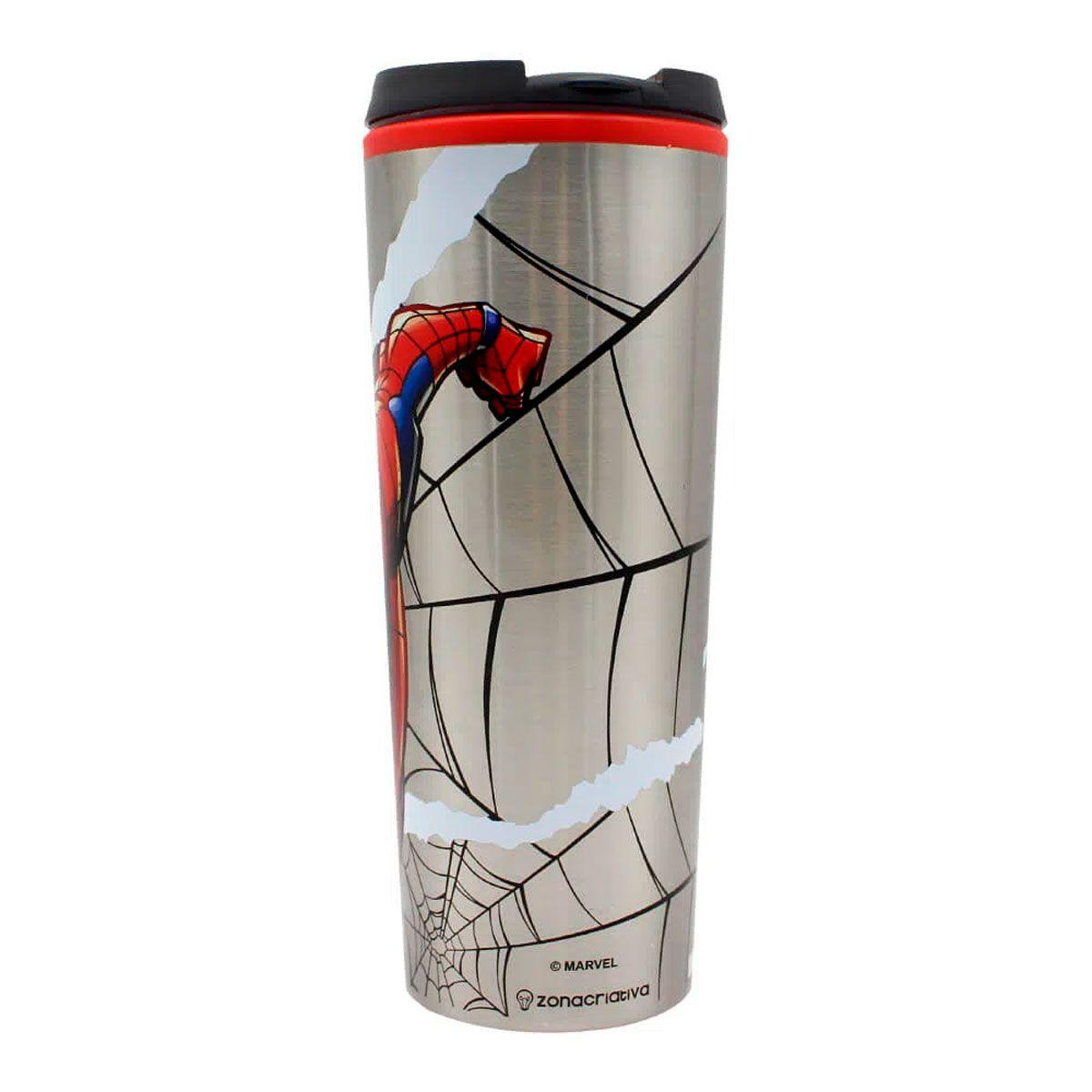 Copo Viagem 450 ml Spider Man HQ