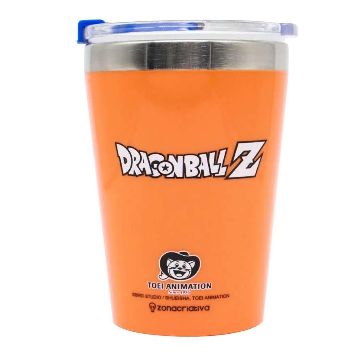 Copo Viagem Símbolo Logo Dragon Ball Z