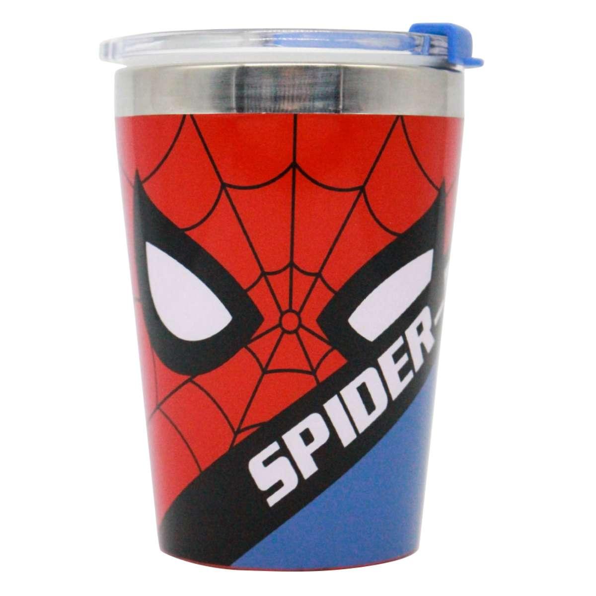 Copo Viagem Spider-man Homem Aranha Marvel