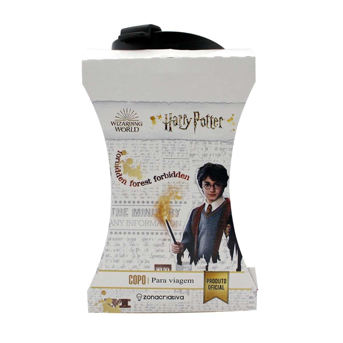 Copo Viagem Harry Potter Hogwarts Alumni