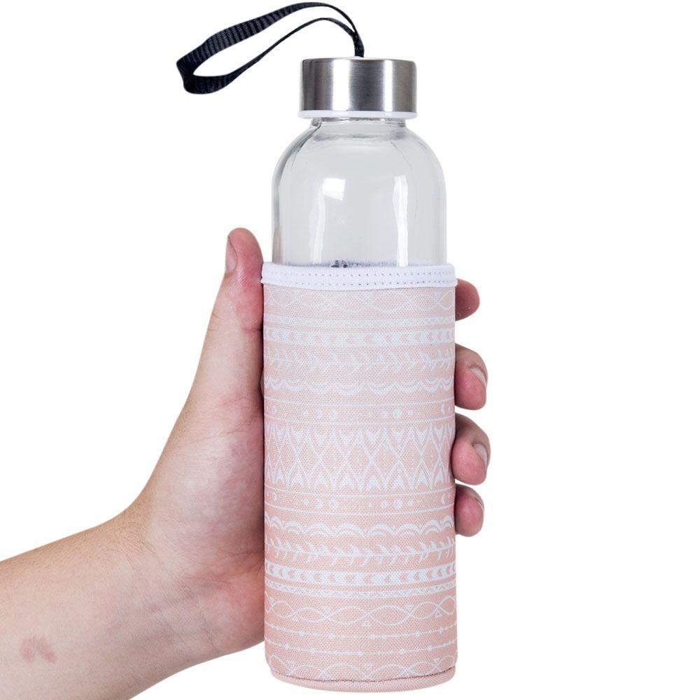 Garrafa de Vidro 500 ml - Faça Sua Revolução