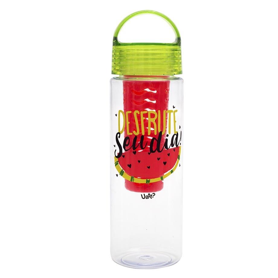 Garrafa Infusor 500 ml - Desfrute o Seu Dia