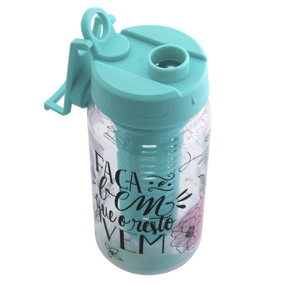 Garrafa Infusor Easy 500 ml - Jardim Secreto