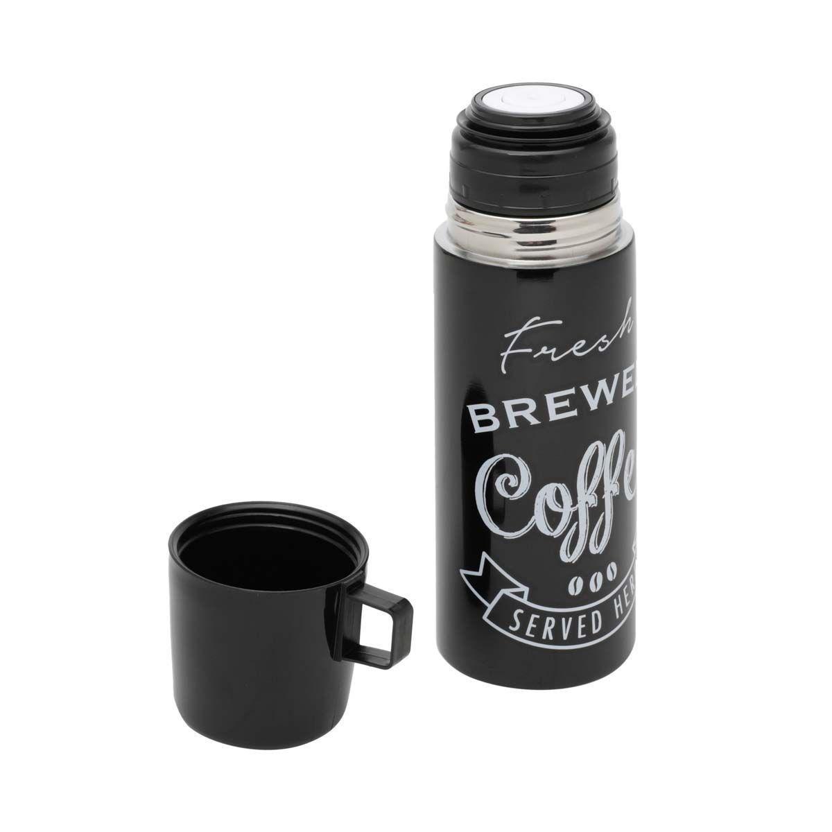 Garrafa Térmica 350 ml com Caneca Expresso Brewed Coffee