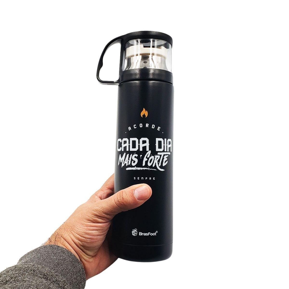 Garrafa Térmica 475 ml Cada Dia Mais Forte