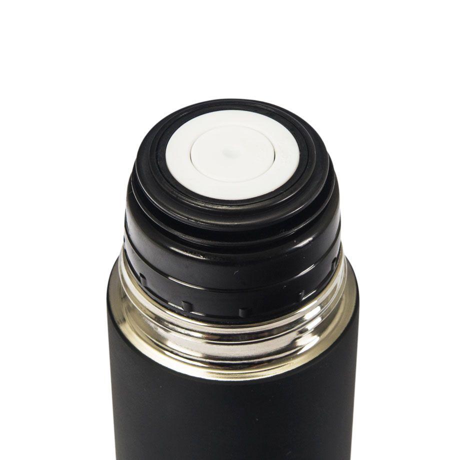 Garrafa Térmica 475 ml com Caneca - Palavras