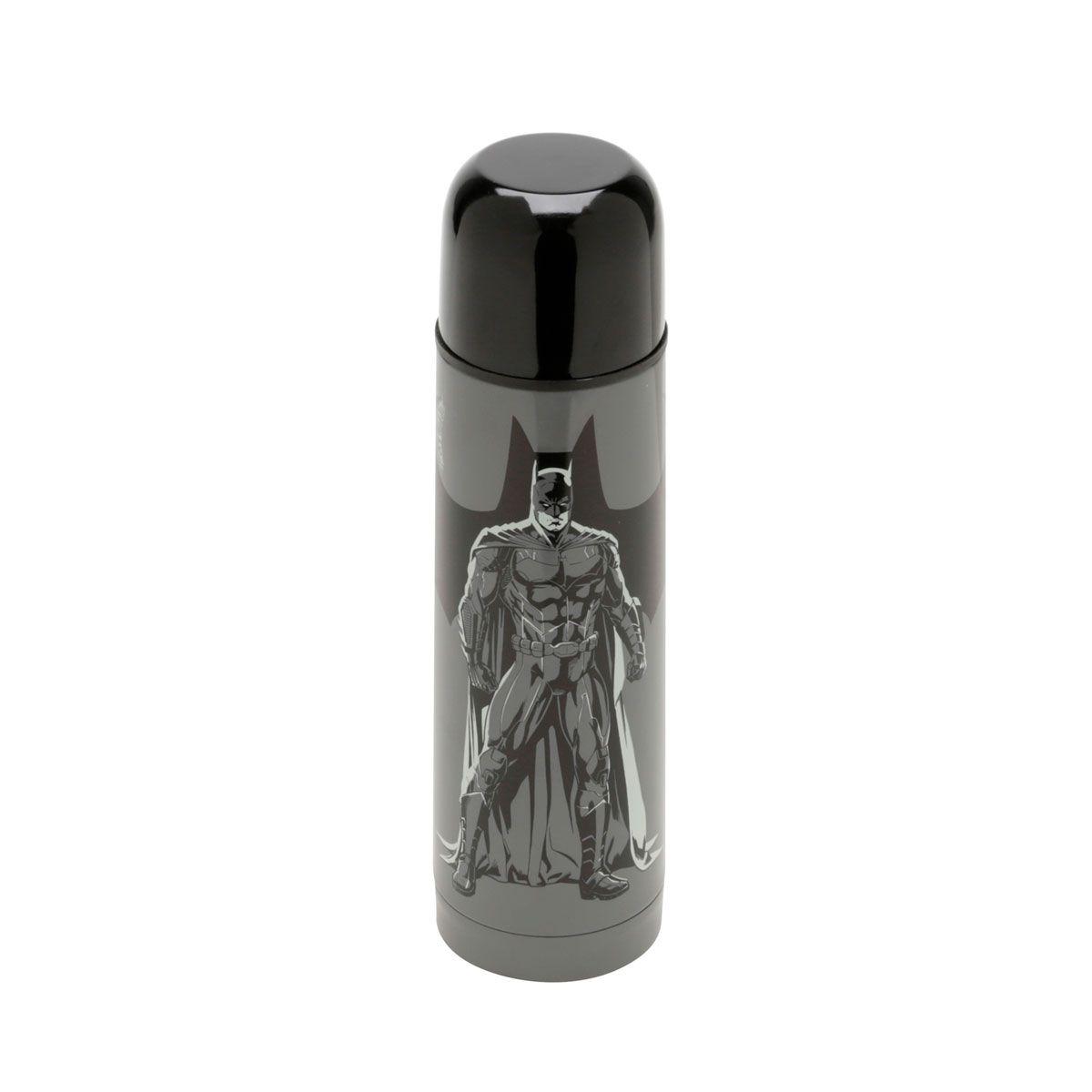 Garrafa Térmica 500 ml Batman Liga da Justiça DC Comics