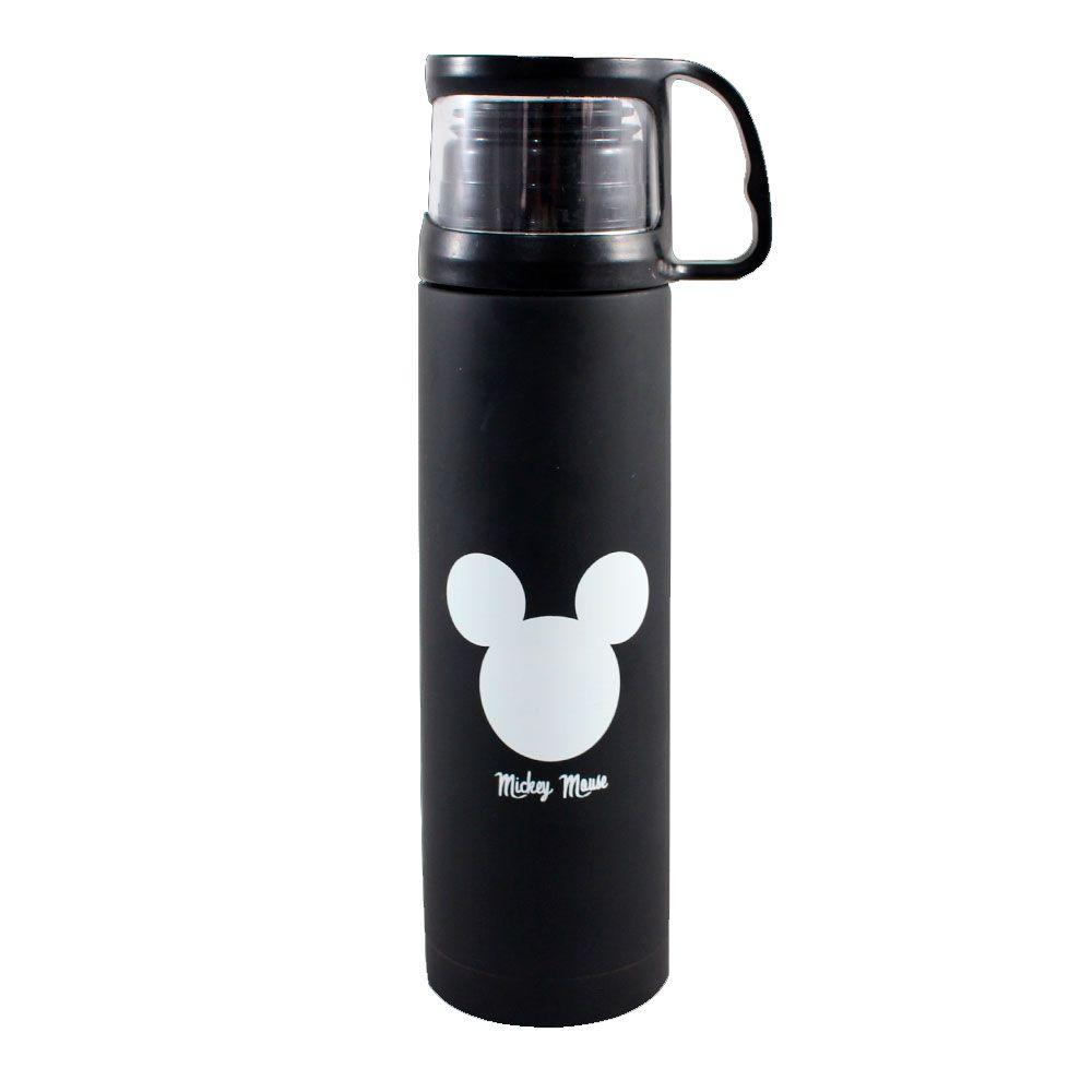 Garrafa Térmica 500 ml com Caneca - Mickey Logo