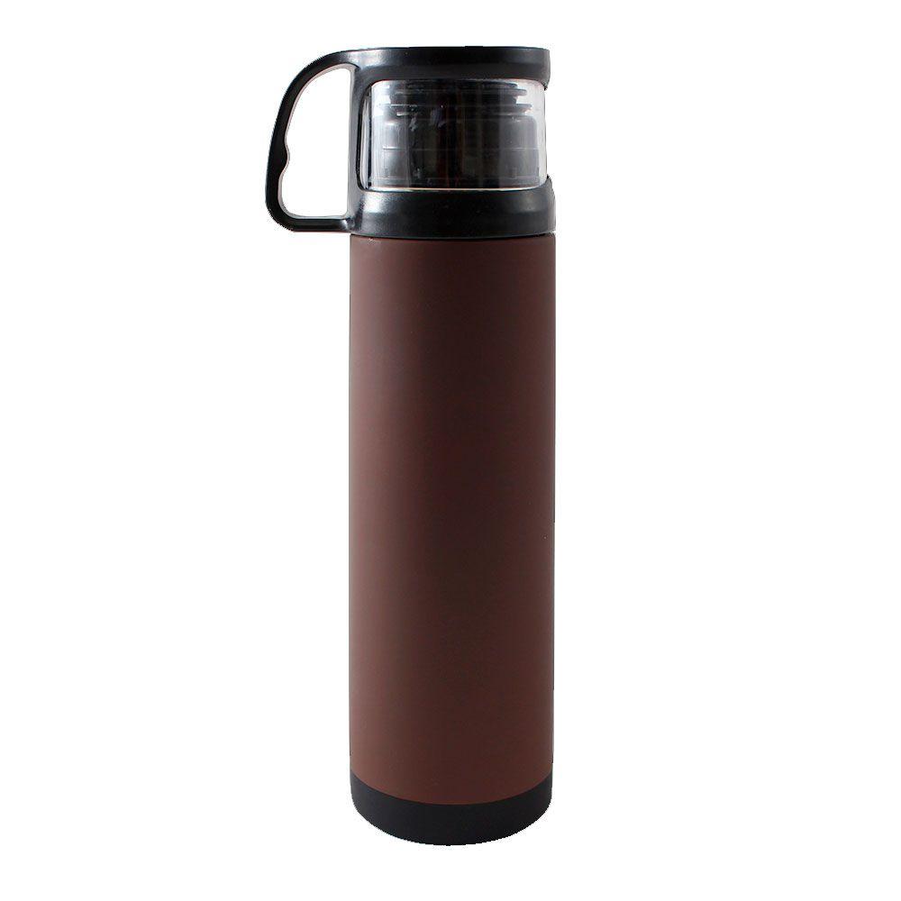 Garrafa Térmica 500 ml com Caneca - Tão Bom Quanto Cheirinho de Café