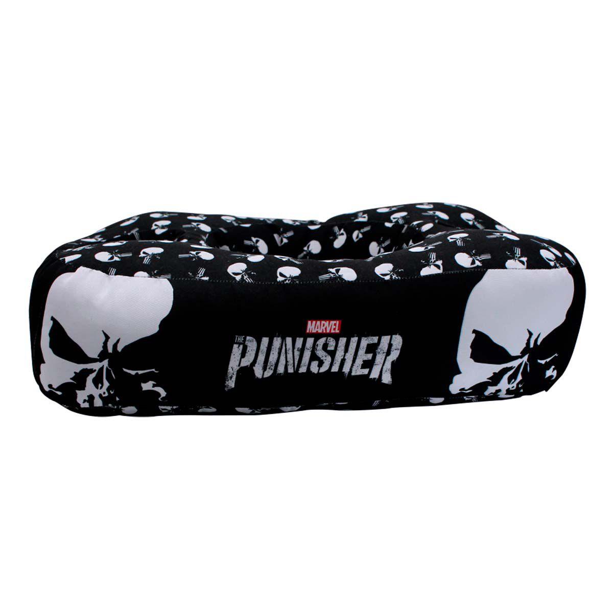 Kit Almofada Porta Pipoca Punisher Justiceiro Marvel