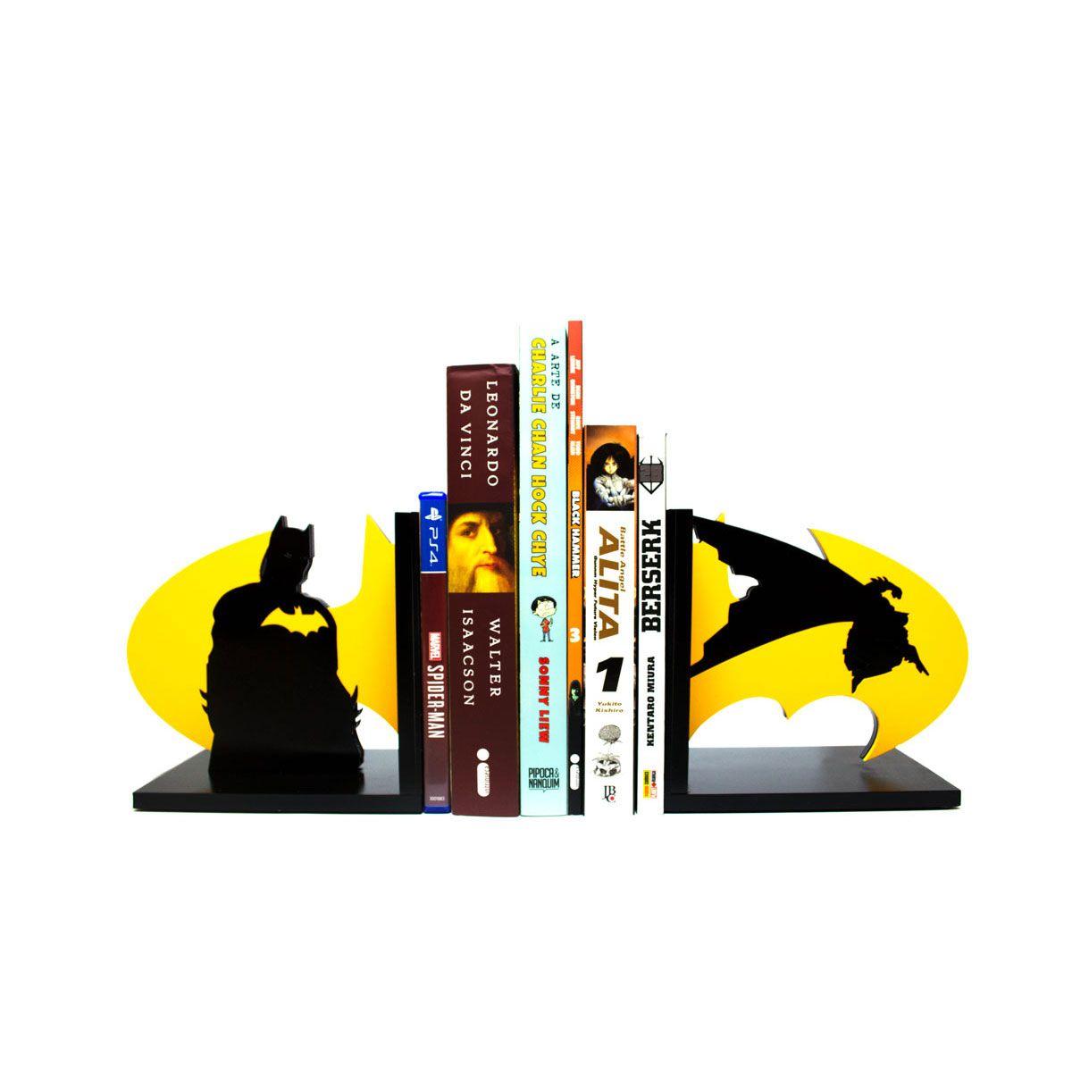 KIt Aparador de Livros e Quadro 3D Batman