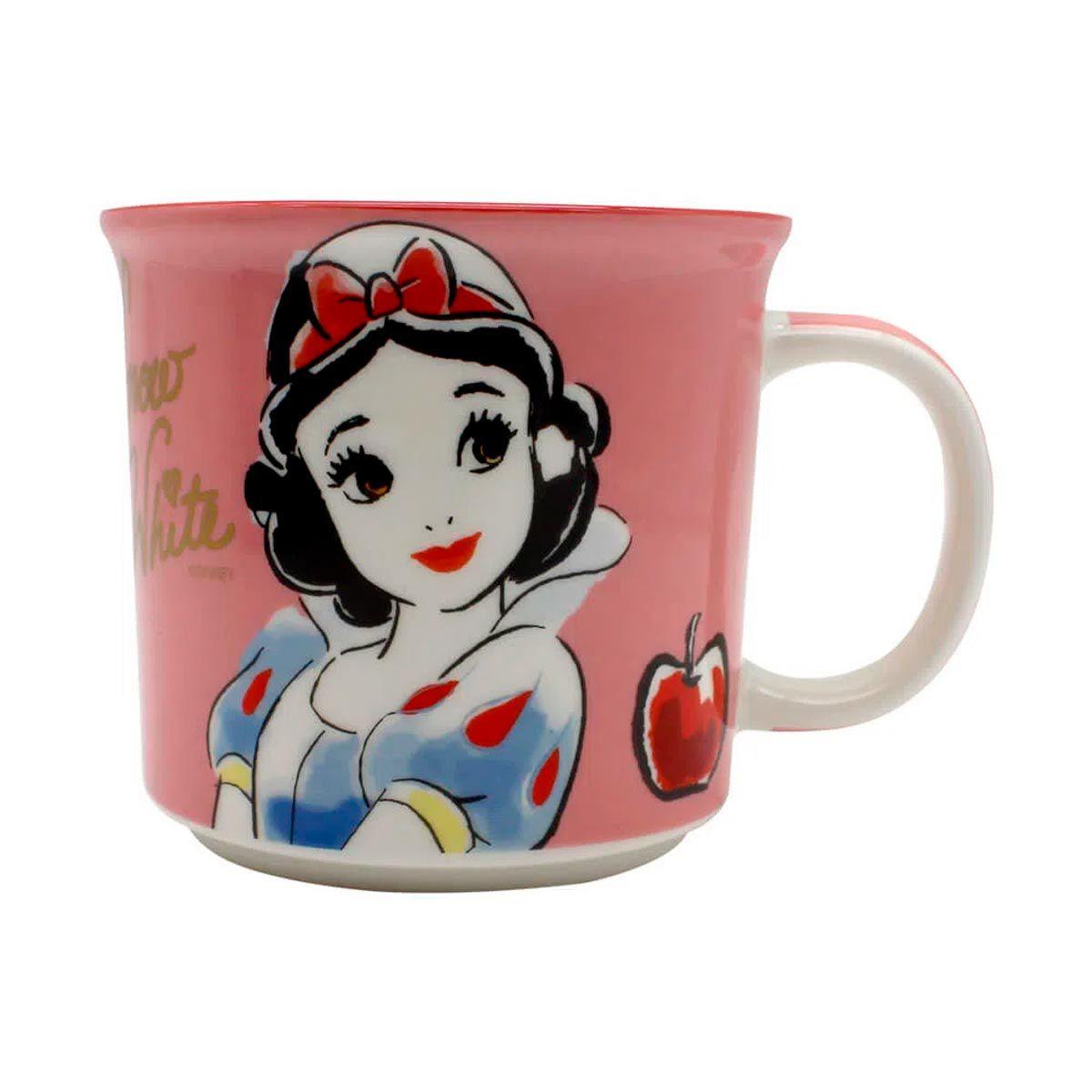 Kit Copo Térmico e Caneca Princesa Branca de Neve Disney