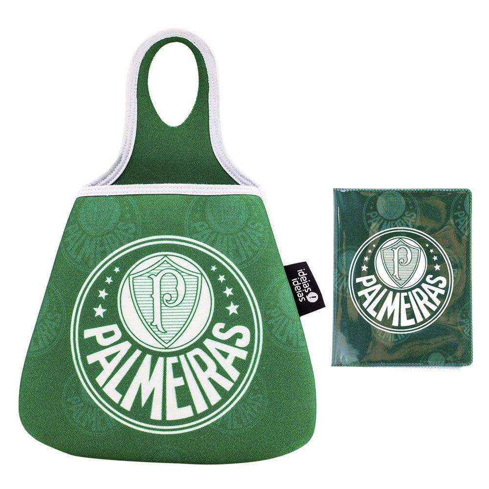 31e5014866 Kit Lixeira e Porta Documentos Palmeiras - Presente Super