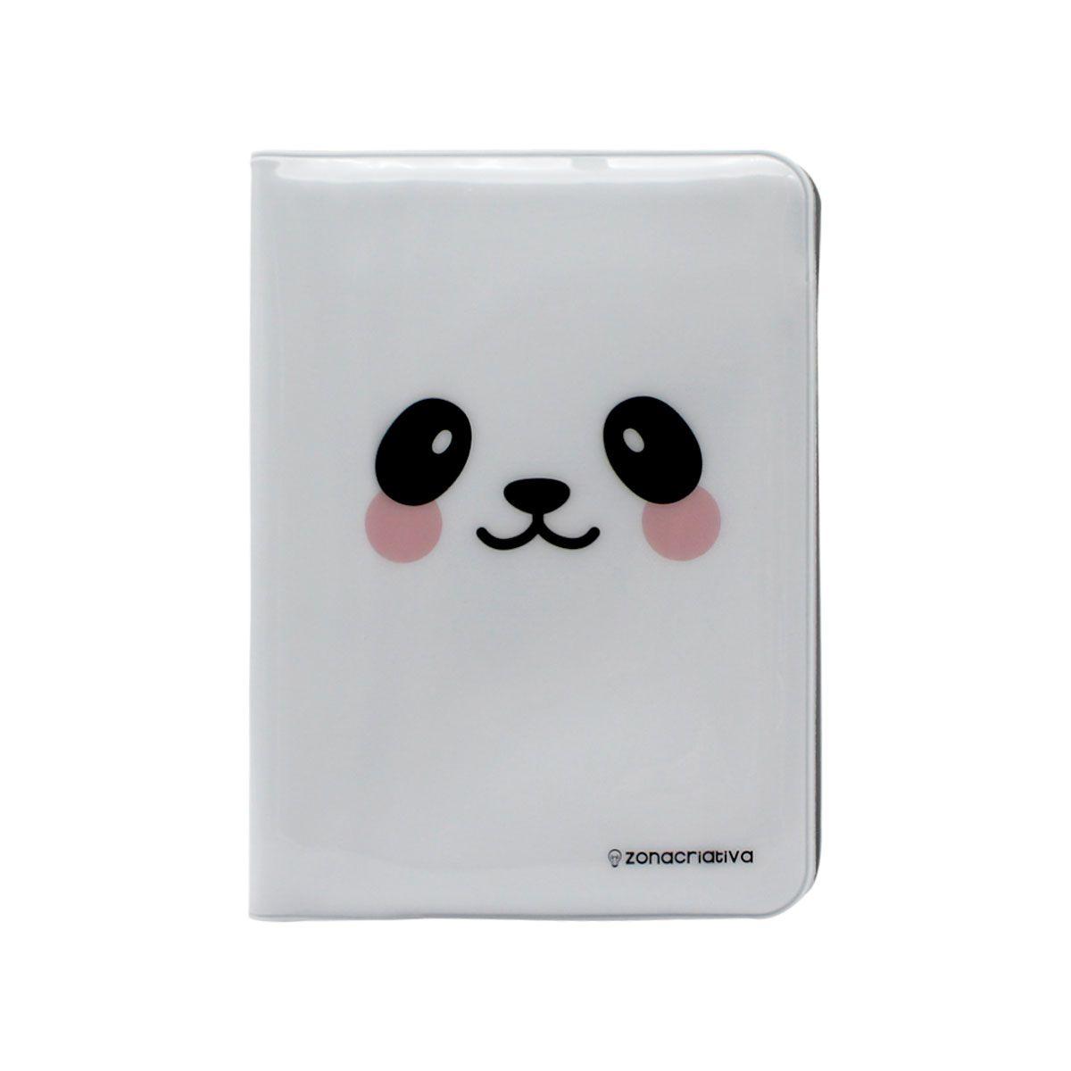 Kit Viagem Porta Passaporte e Tag de Mala Panda