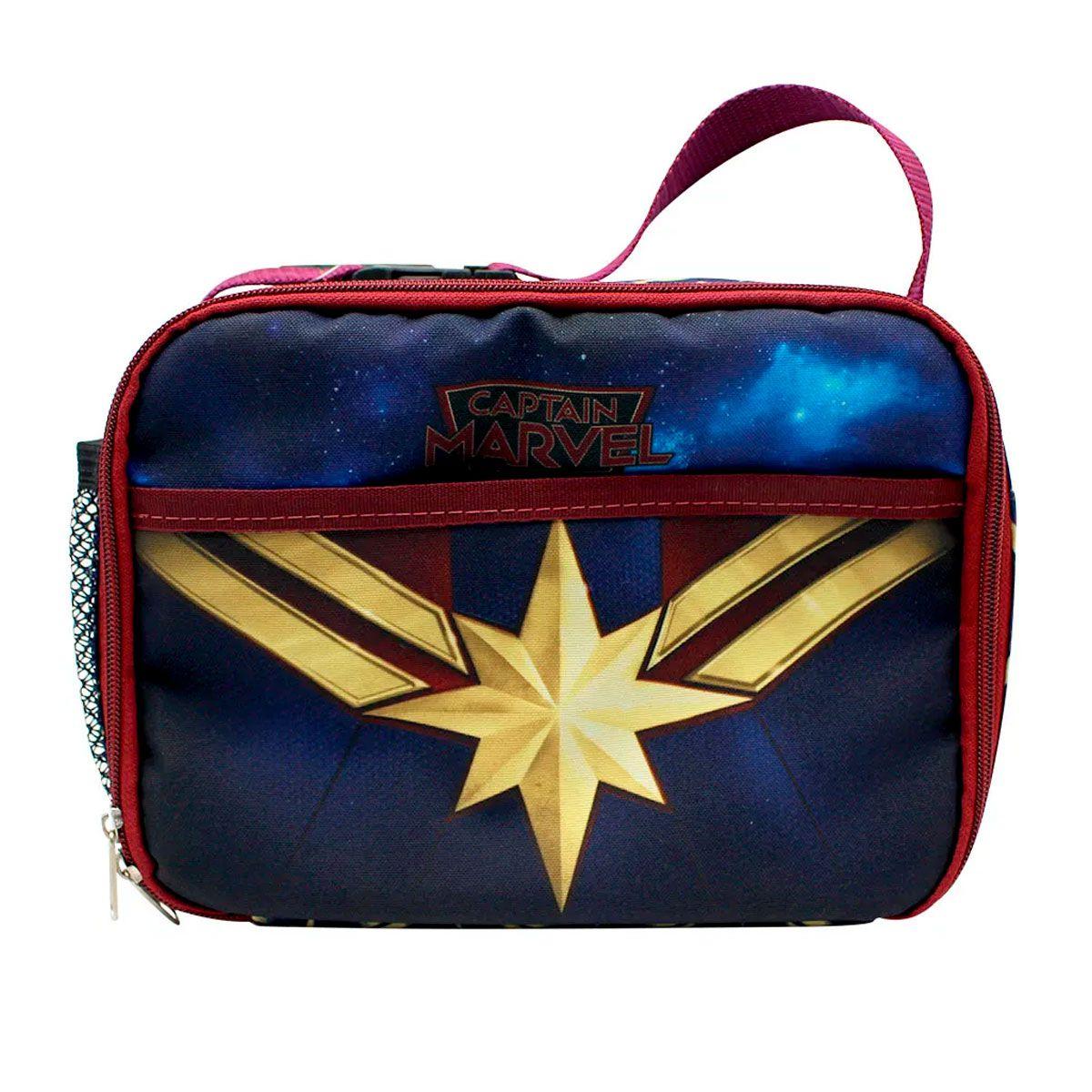 Lancheira Bolsa Térmica Capitã Marvel