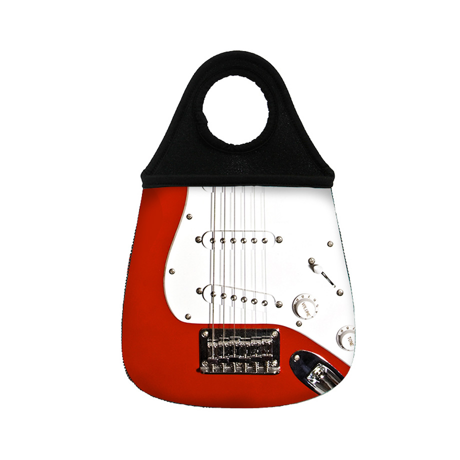 Lixeira Para Carro - Guitarra Rock And Roll