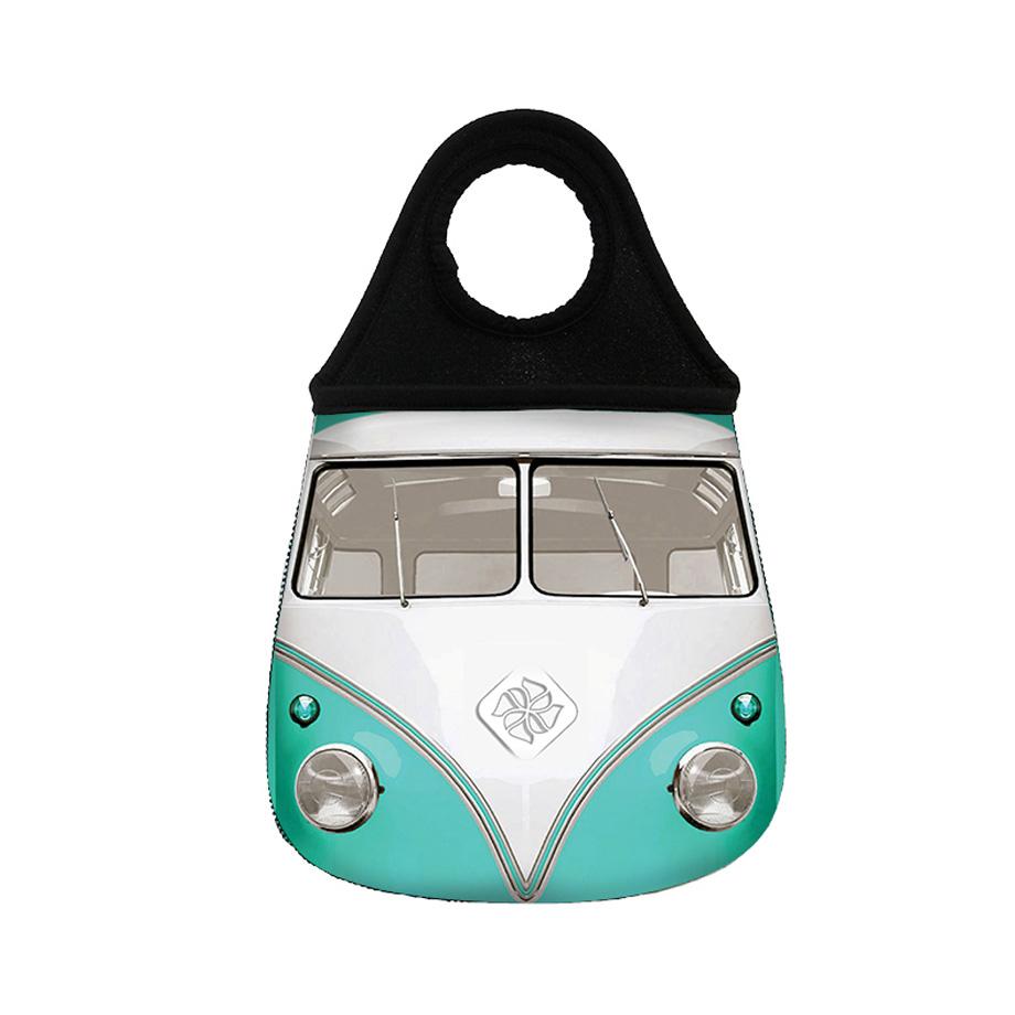 Lixeira para Carro - Kombi Verde