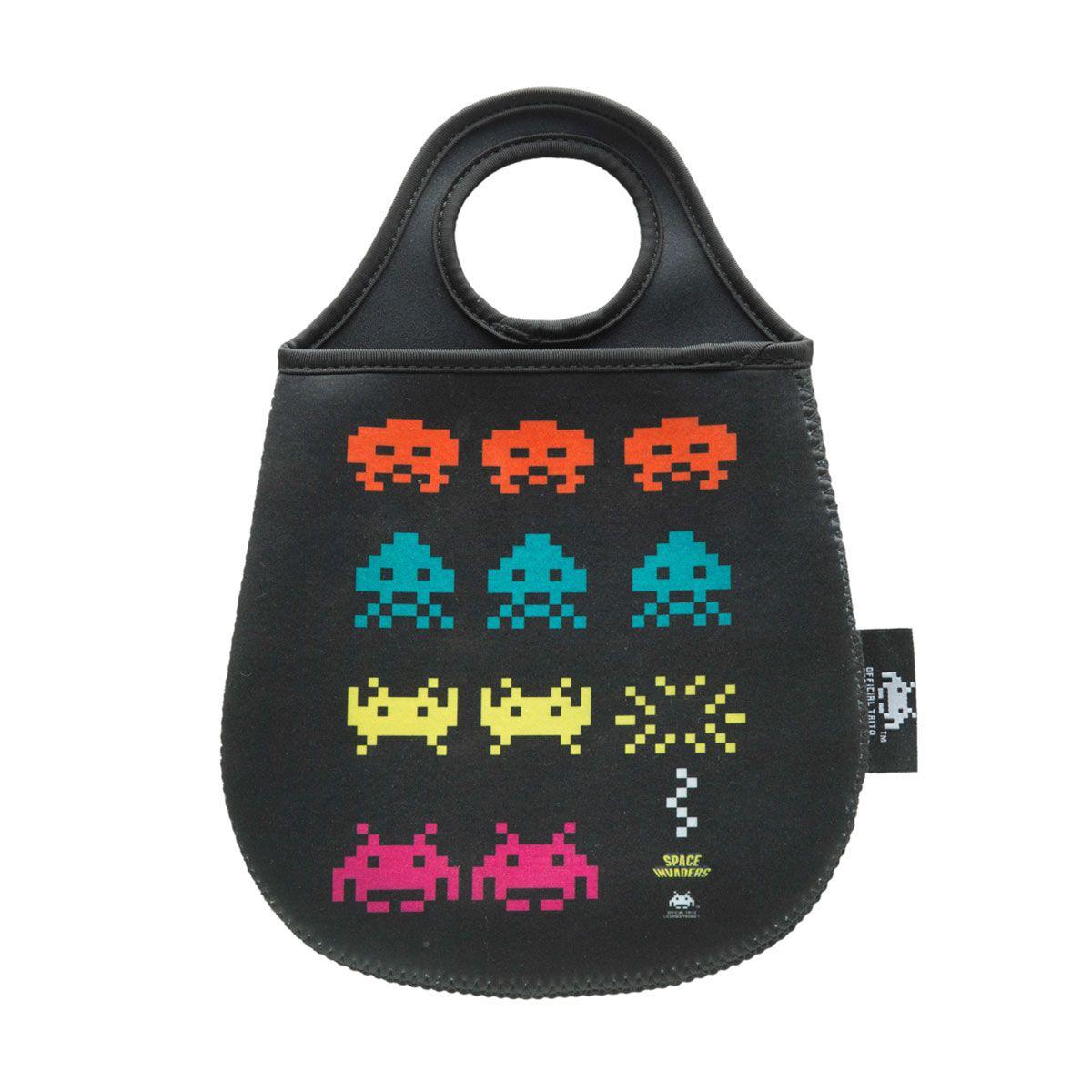Lixeira para Carro - Space Invaders Game Geek