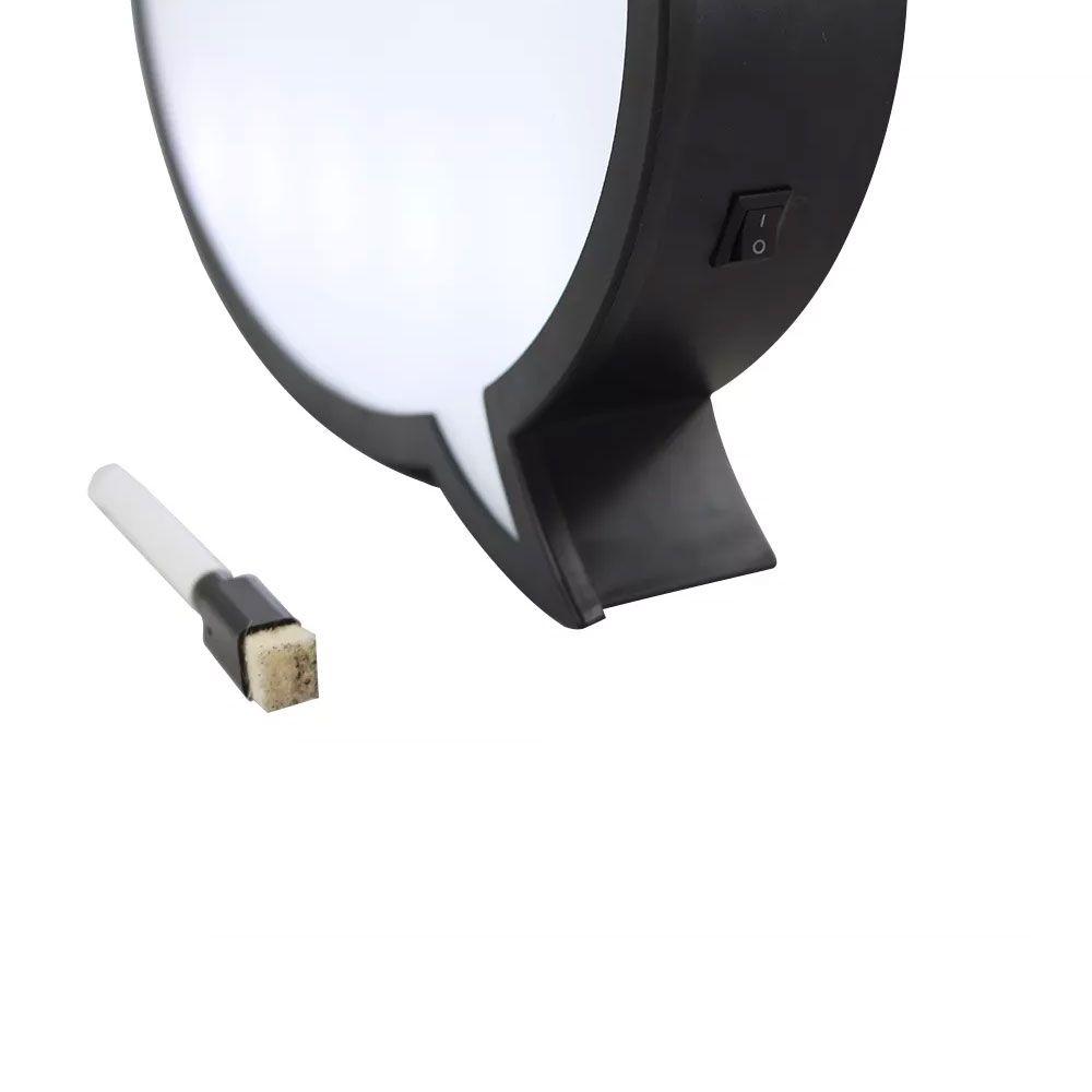 Luminária Balão de Recados - Balão de Fala