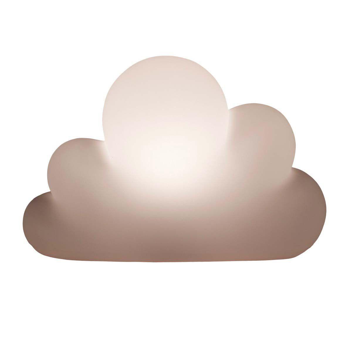 Luminária de Mesa Formato Nuvem