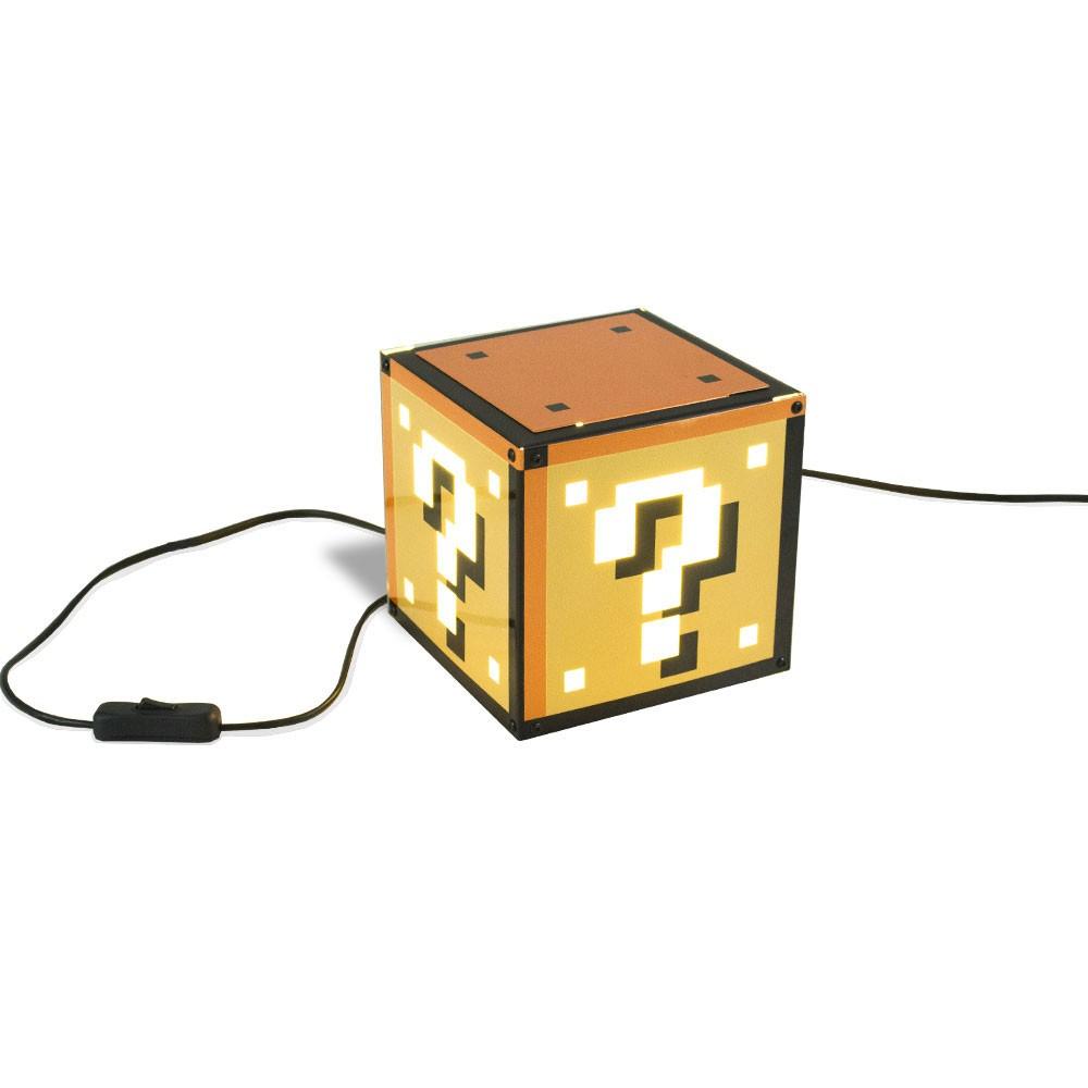 Luminária de Mesa Interrogação Pixel