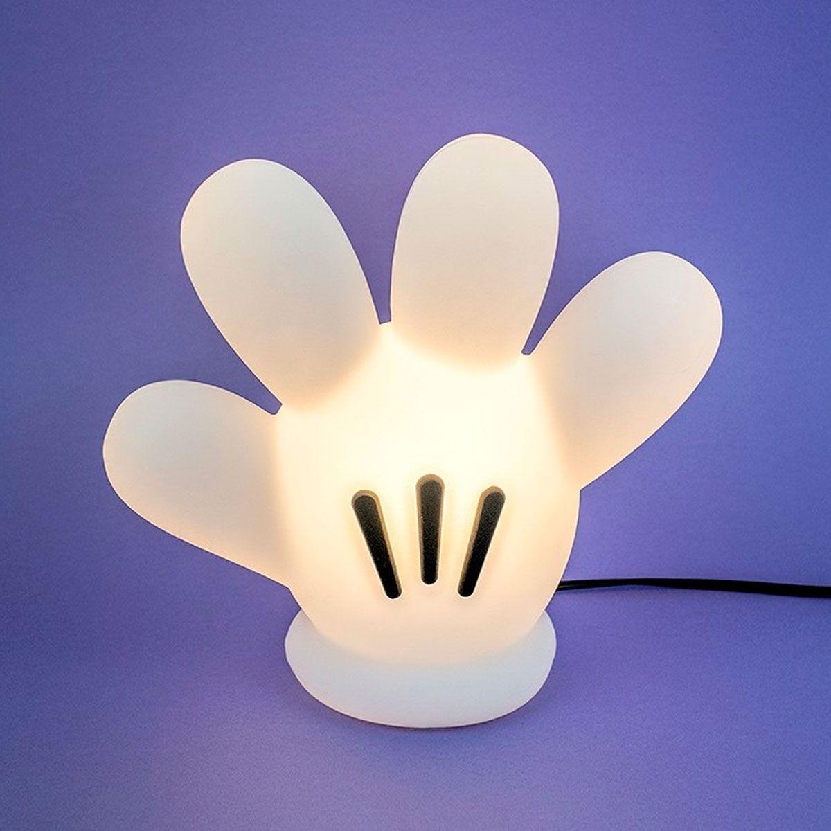 Luminária de Mesa Luva Mickey