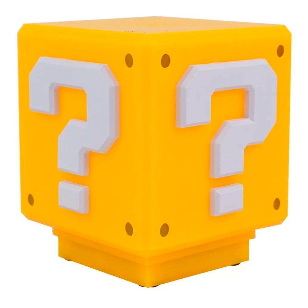 Luminária de Mesa Mini Bloco de Interrogação Super Mario Bros