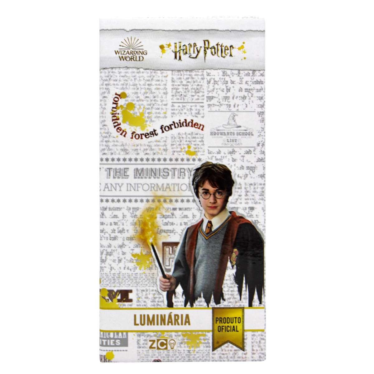 Luminária Pote Led Harry Potter Hogwarts Express Estação 9 3/4