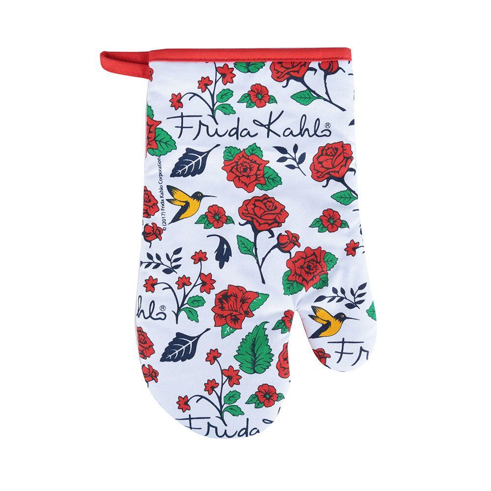 Luva de Cozinha Frida Kahlo Birds and Flowers