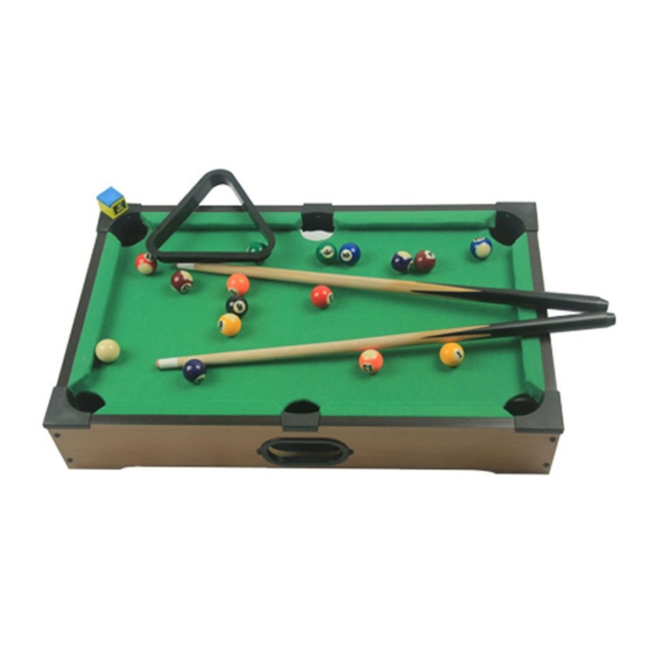 Mini Bilhar Sinuca Snooker Com 51x31x11cm