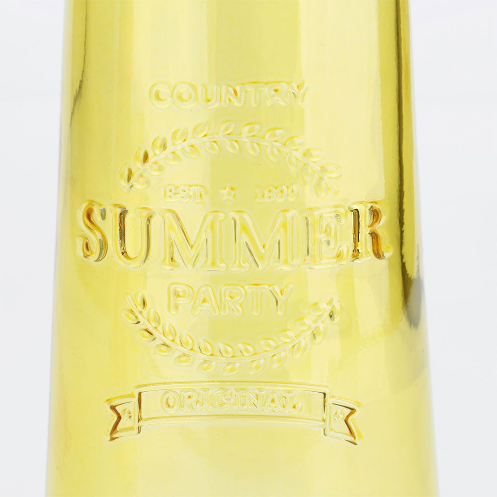 Moringa de Vidro Summer Colors Amarela