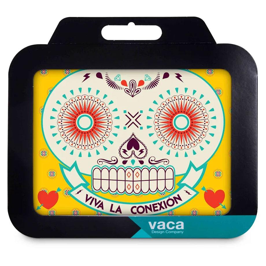 Mouse Pad Caveira Mexicana Viva La Conexion