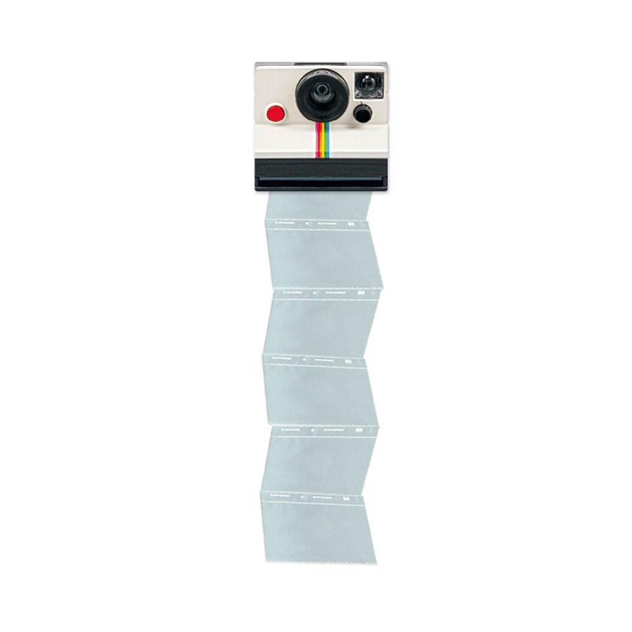 Mural Porta Retrato Álbum Câmera Polaroid Retro