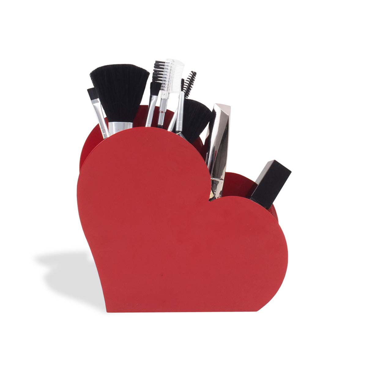Organizador Porta Treco Coração Amor Vermelho