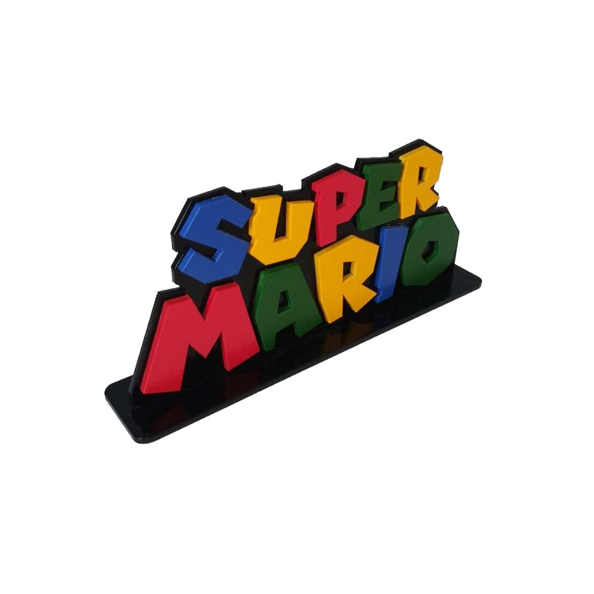 Palavra Super Mário Nintendo