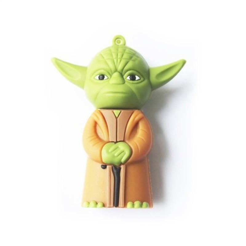 Pen Drive Star Wars Mestre Yoda - 16gb
