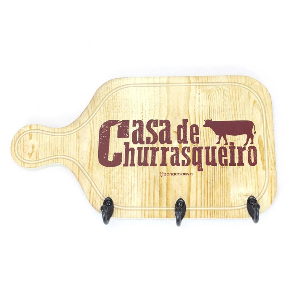 Pendurador Gancho Casa De Churrasqueiro