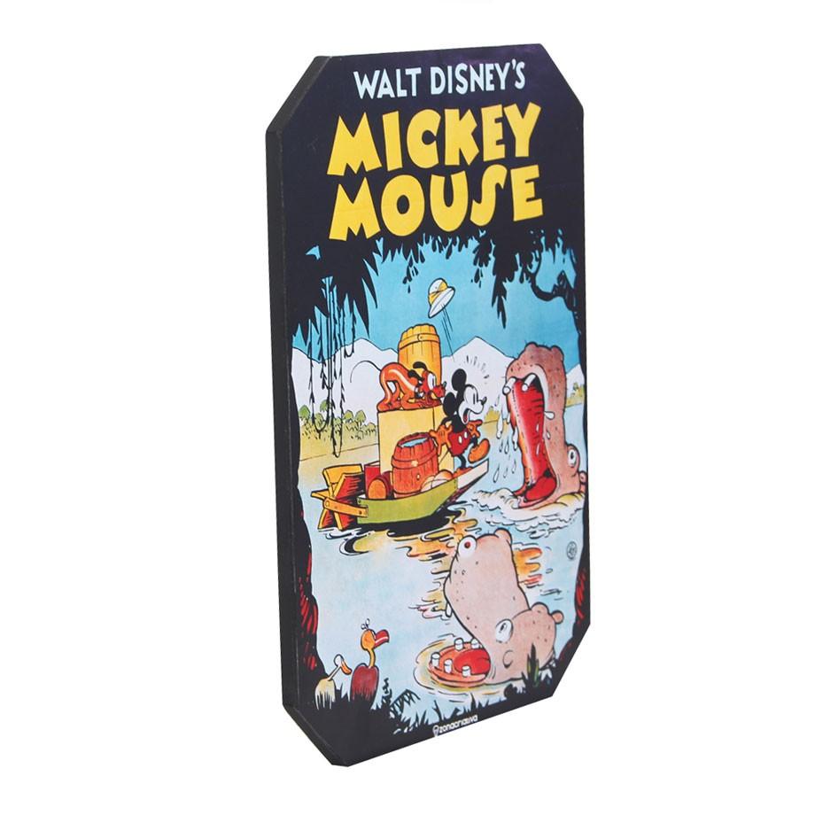 Placa Decorativa Mickey Mouse