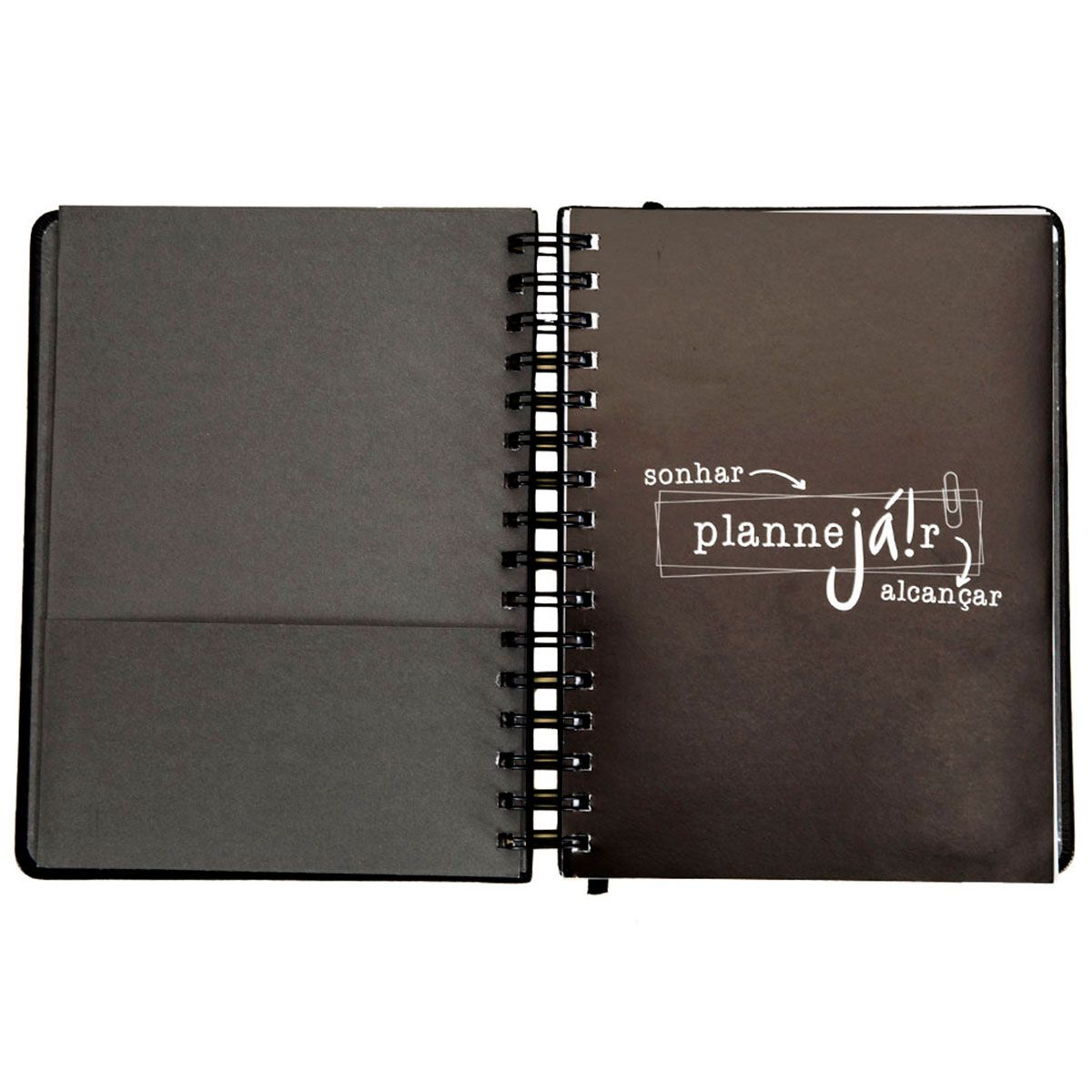 Planner Anual Preto Planejar