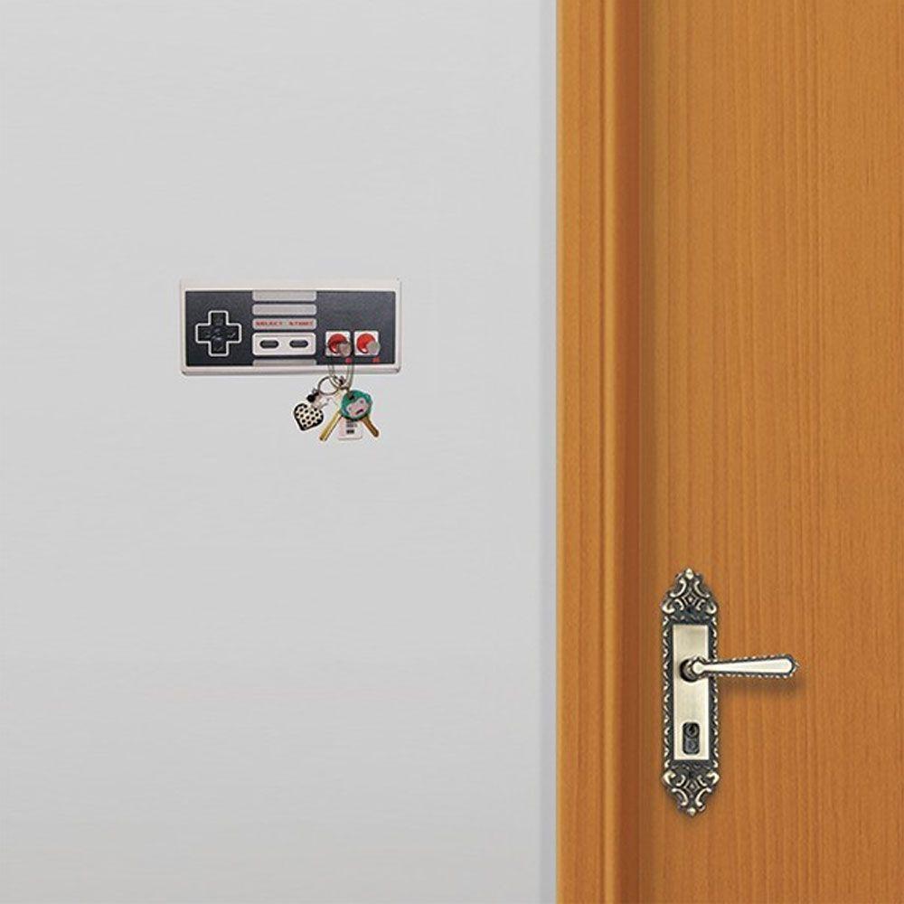 Porta Chaves Controle Nintendinho Game