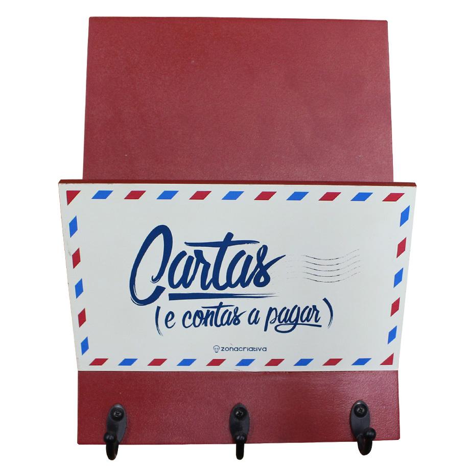 Porta Chaves e Cartas Correspondencia e Contas a Pagar